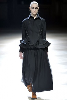 Yohji Yamamoto2008年秋冬高级成衣时装秀发布图片142488