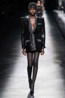 Saint Laurent 2019年秋冬高级成衣-巴黎