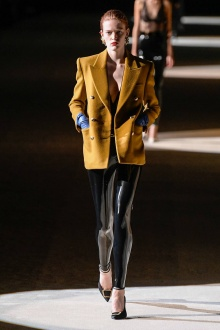 Saint Laurent 2020年秋冬高级成衣-巴黎